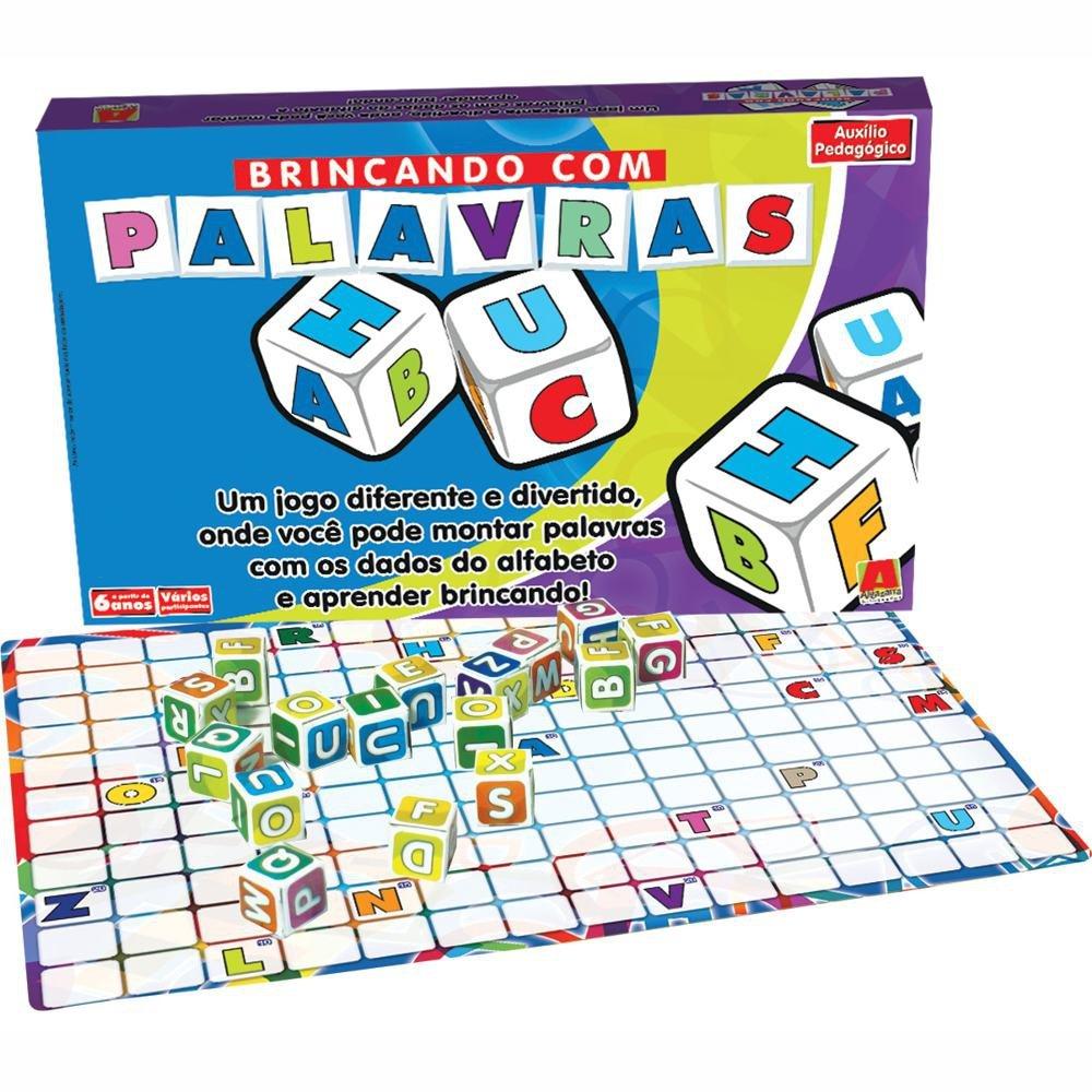 Jogo Brincando com Palavras - Algazarra