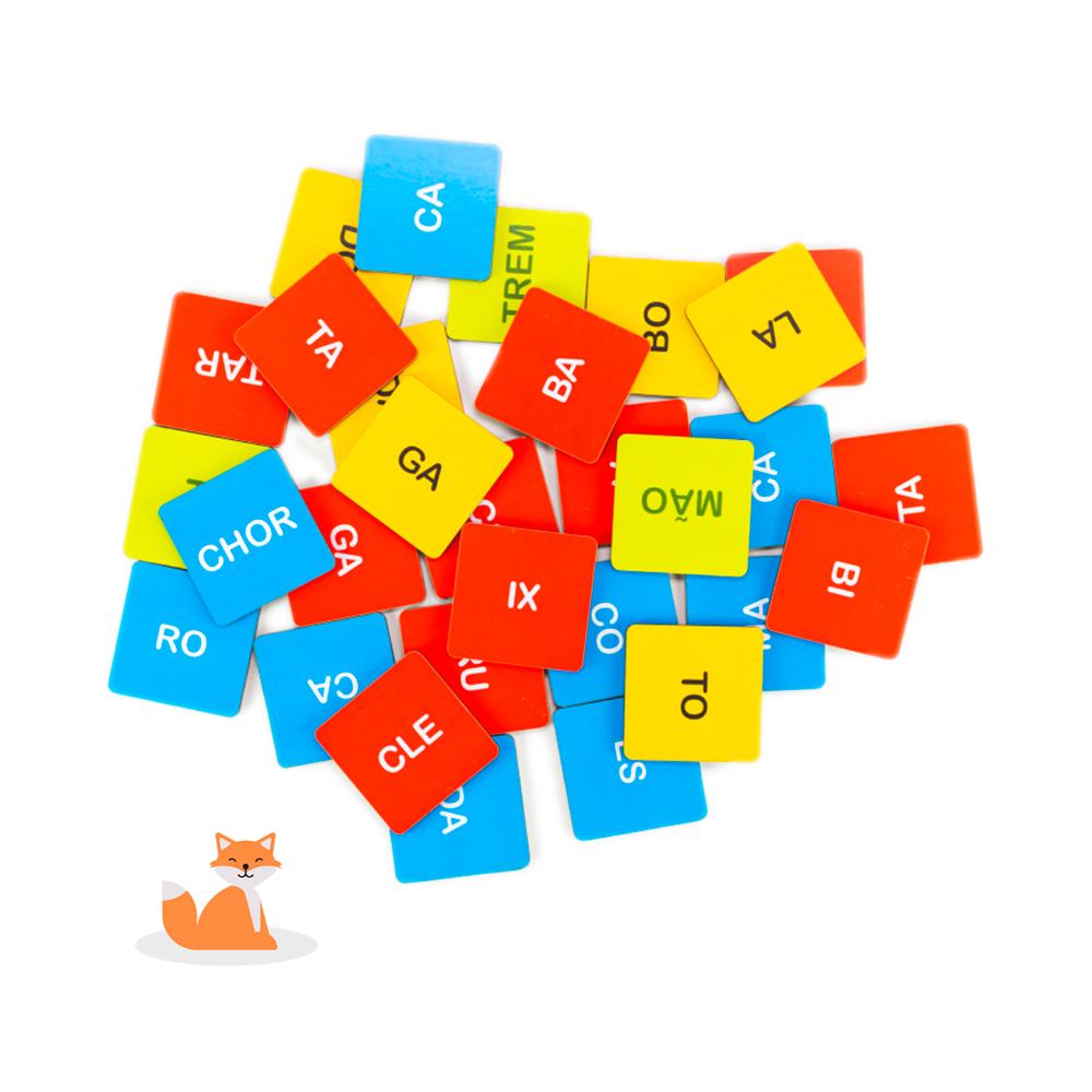 Jogo das Sílabas - Loopi Toys