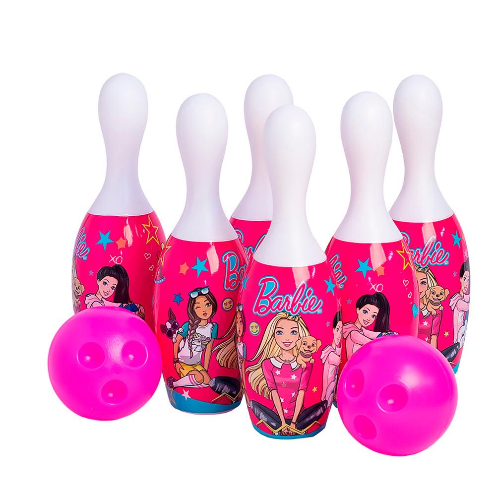 Jogo de Boliche Barbie - Angel Toys