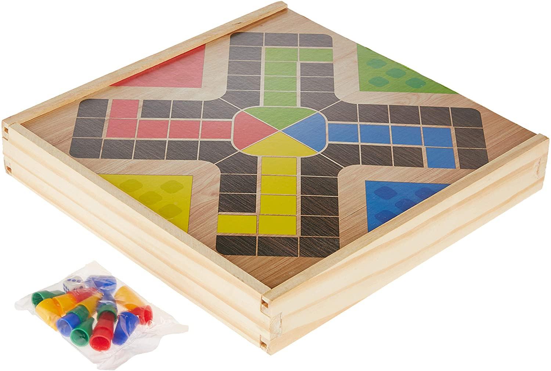 Jogo de Tabuleiro 6 em 1 Diversos - Pais & Filhos