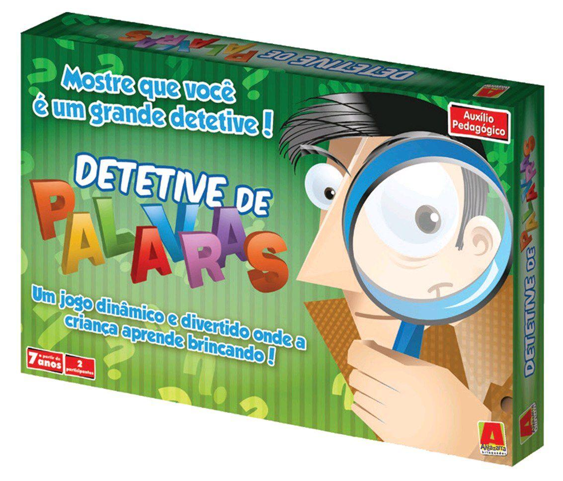 Jogo Detetive de Palavras - Algazarra