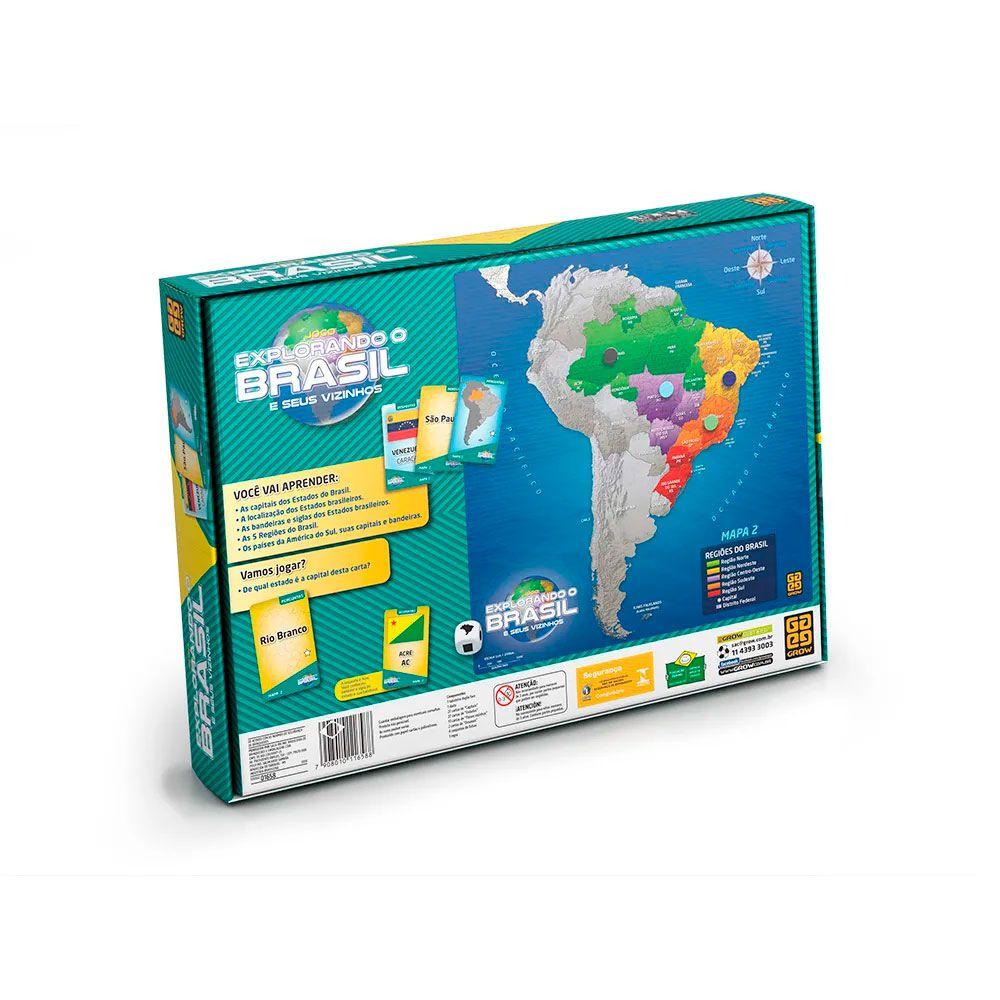 Jogo Explorando o Brasil Grow