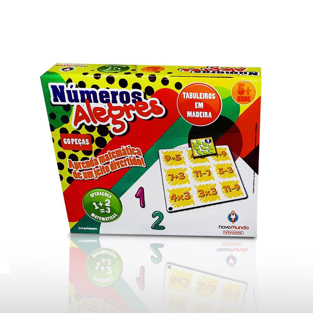 Jogo Números Alegres - Algazarra