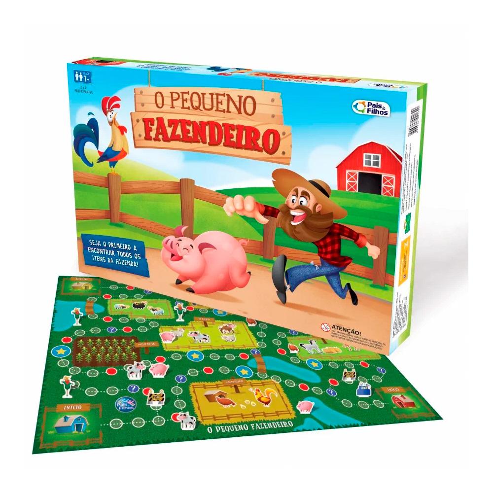 Jogo o Pequeno Fazendeiro - Pais & Filhos