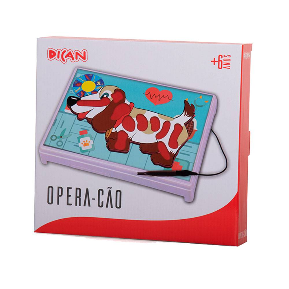 Jogo Opera-Cão - Não Encoste no Cão - Dican