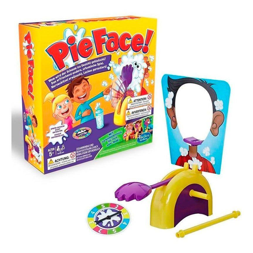 Jogo Pie Face Com Conector Hasbro