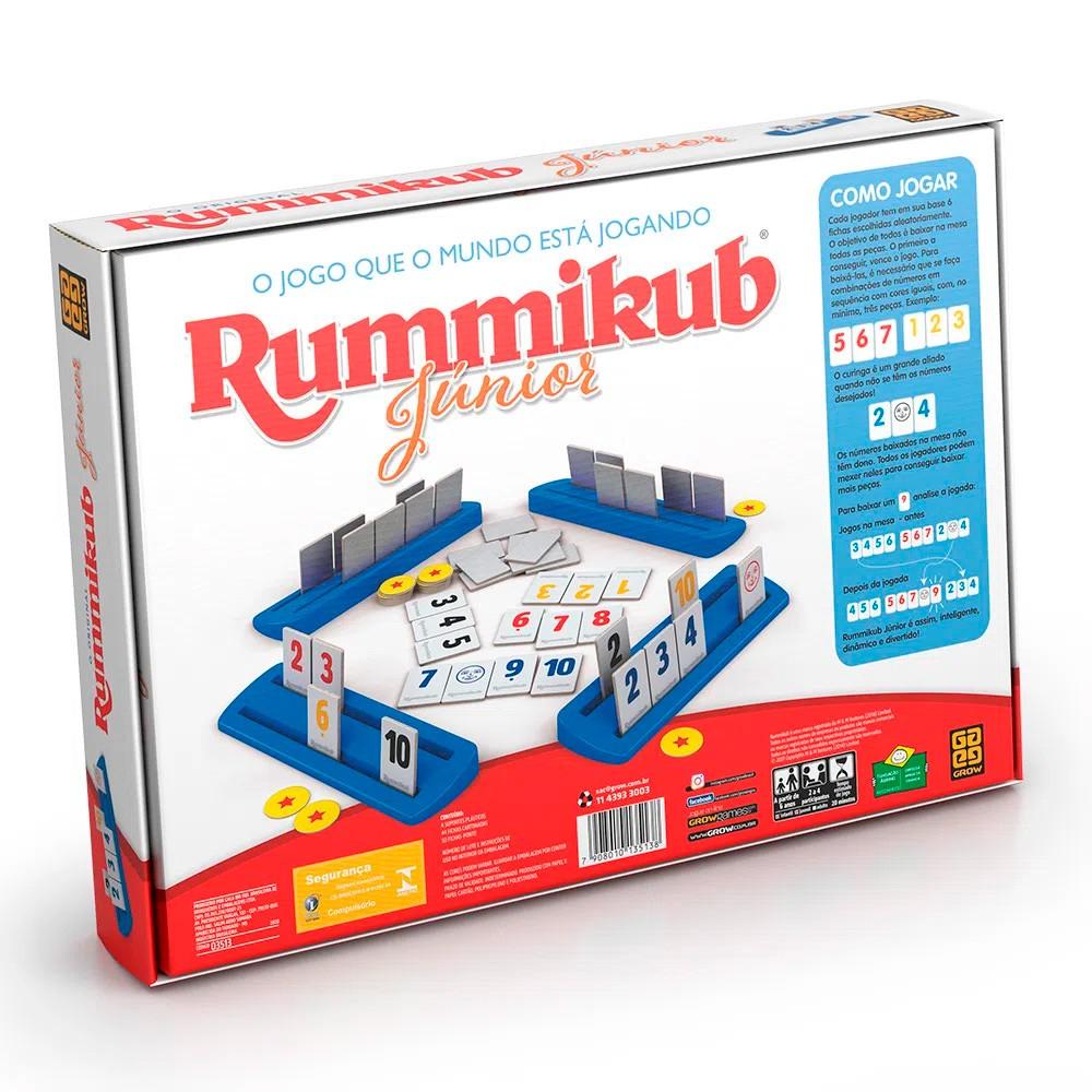 Jogo Rummikub Junior - Grow