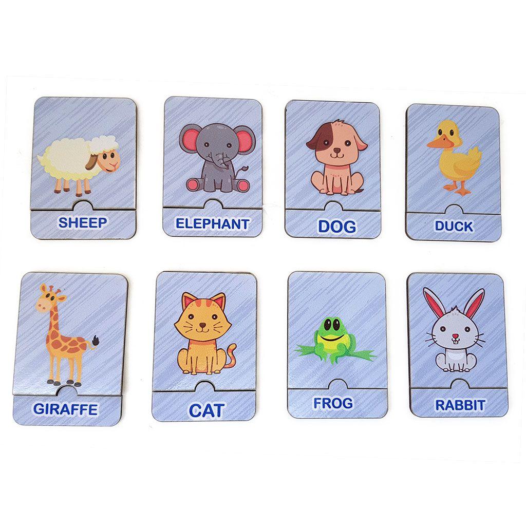 Jogos dos Animais em Inglês • Fox