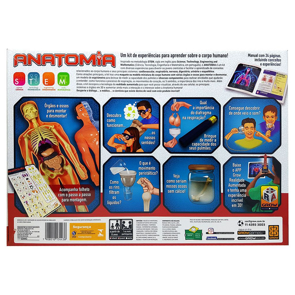 Kit Anatomia Grow
