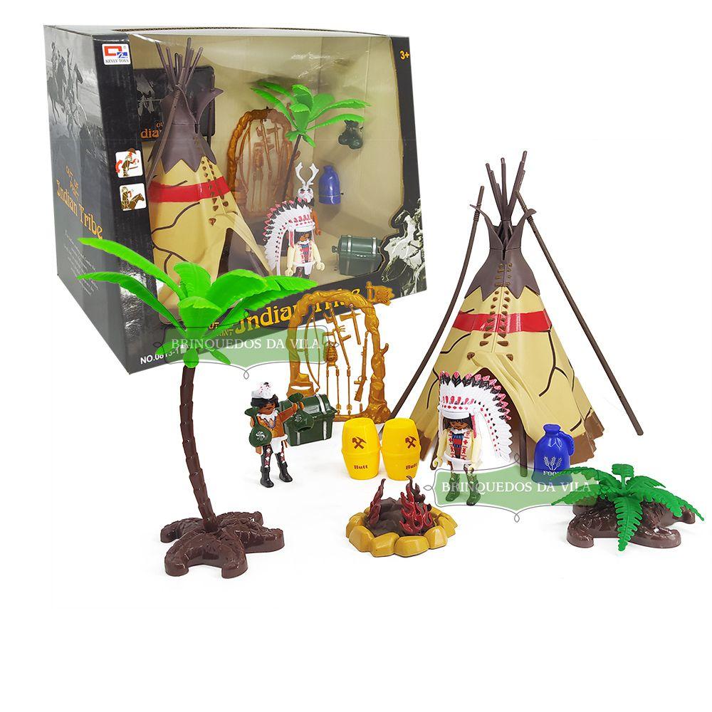 Kit Cenário Tribo Indígena