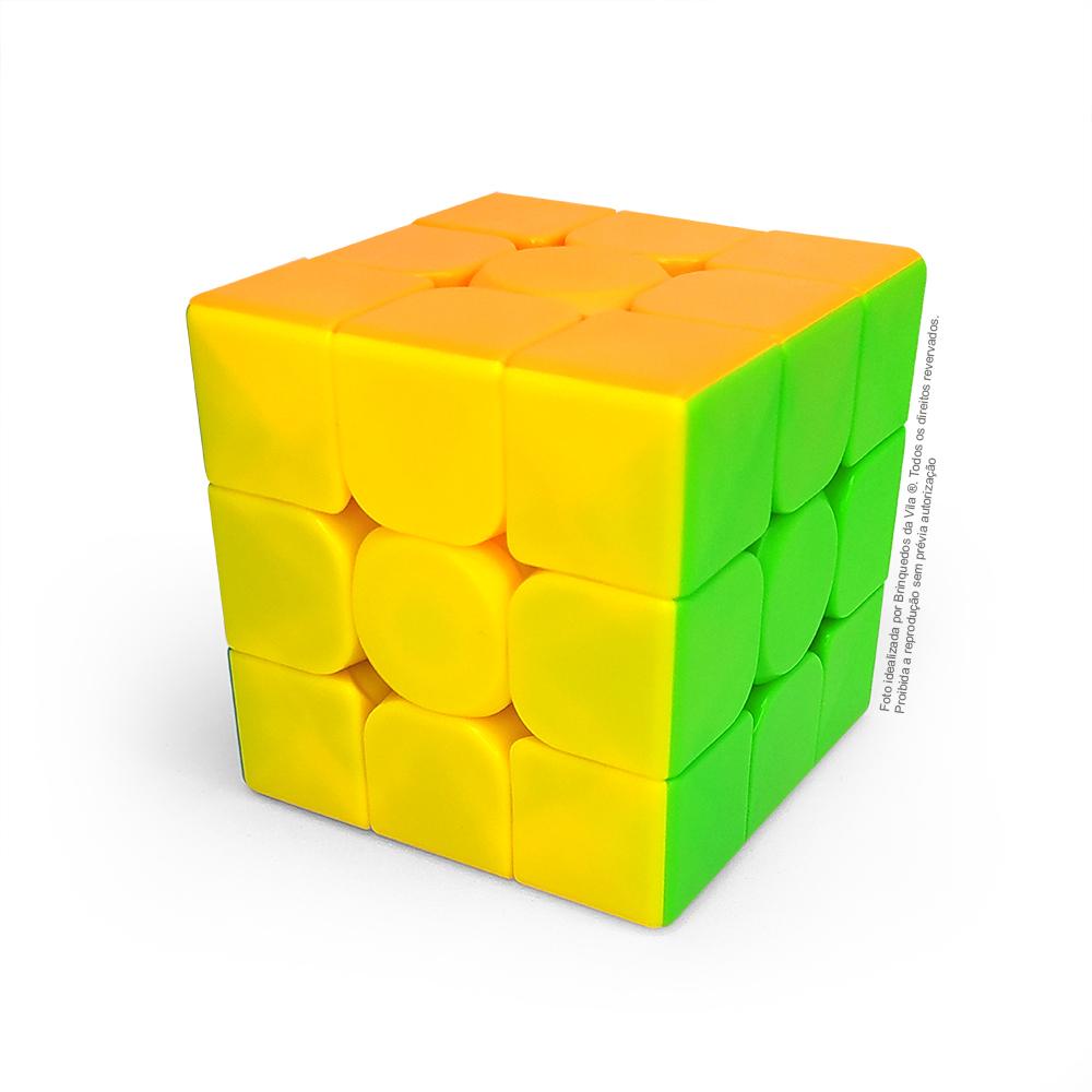 Kit de desafio 3 Cubos Mágicos Diferentes Modelos