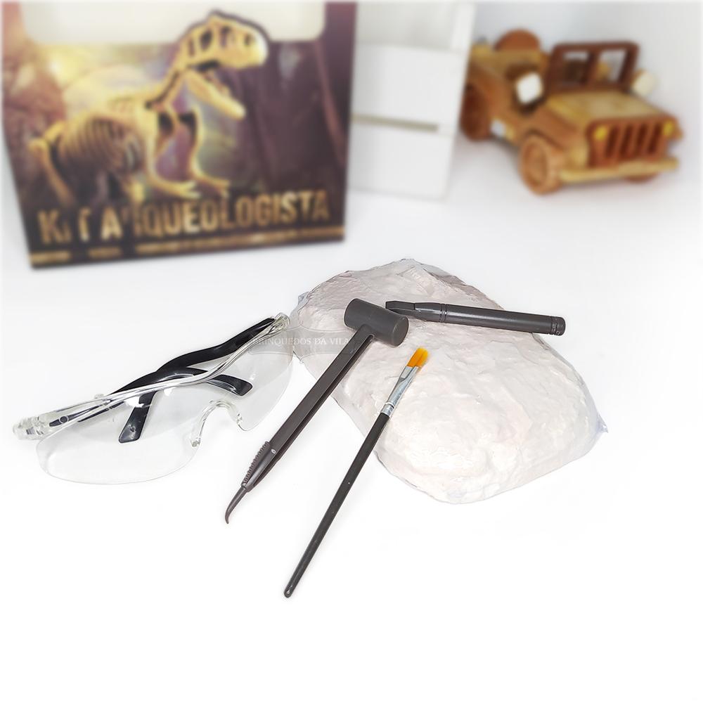 Kit Arqueologista de Escavação com 5 Peças - Ark Toys