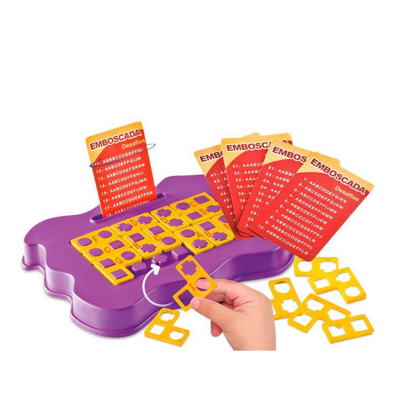 Kit de Jogos de Desafios Educativos Infantil