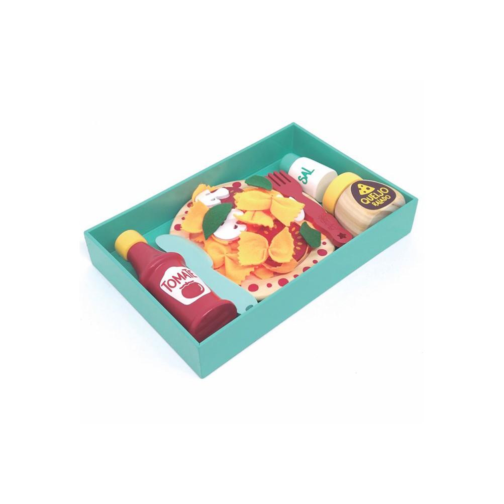 Kit Macarronada Brinquedos de Madeira - NewArt