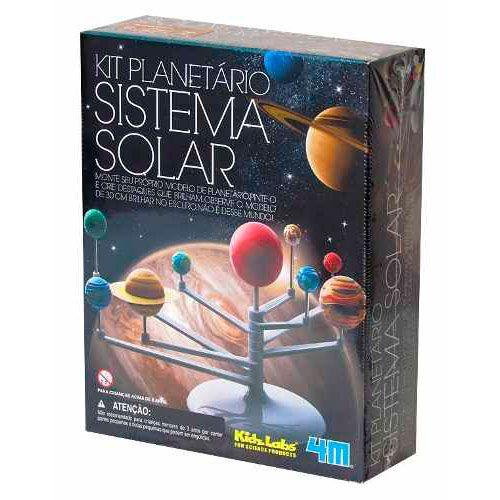 Kit Planetário Sistema Solar • 4M