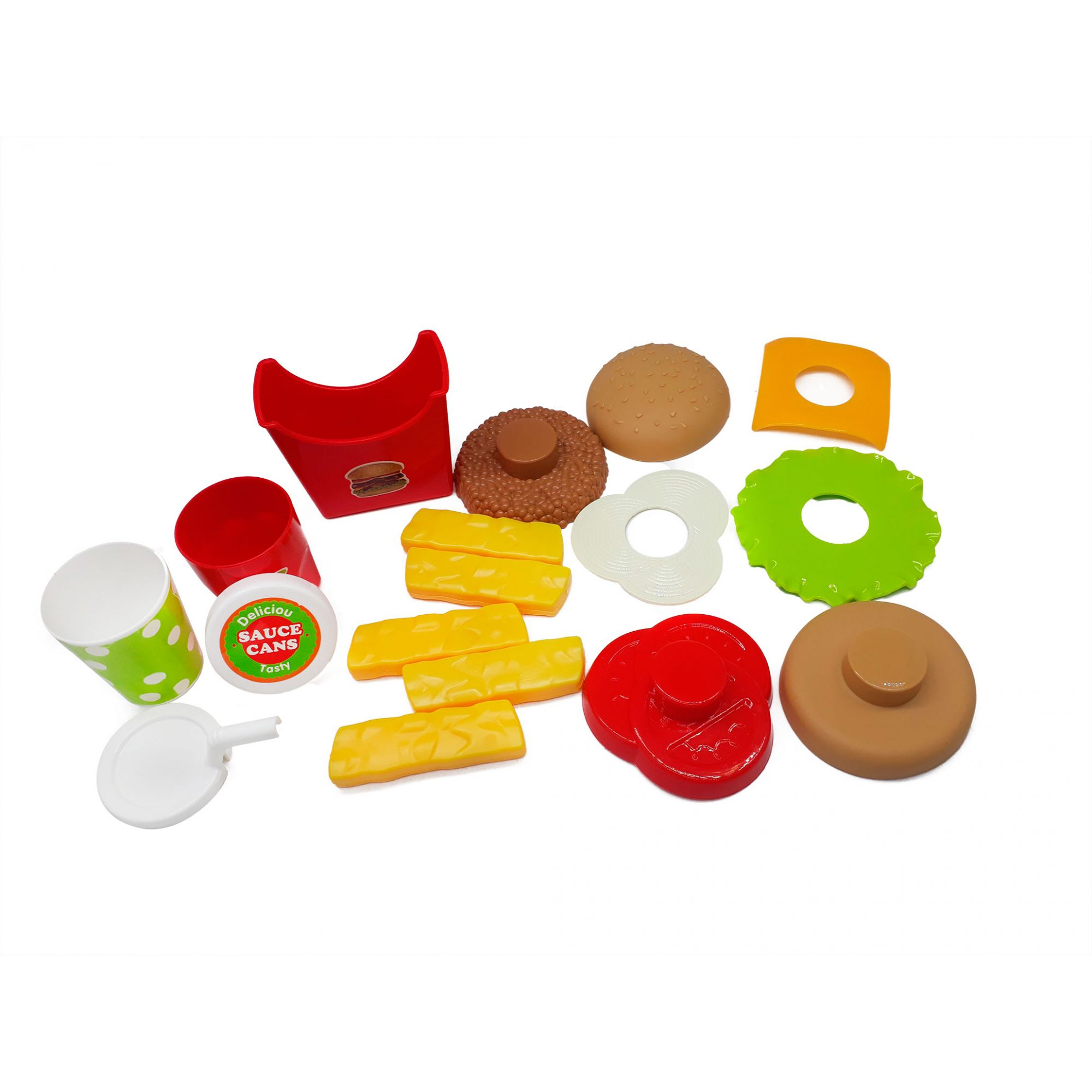 Lanchonete de Brinquedo 15 Peças