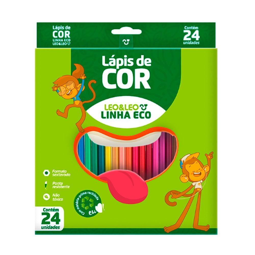 Lápis de Cor Eco 24 cores