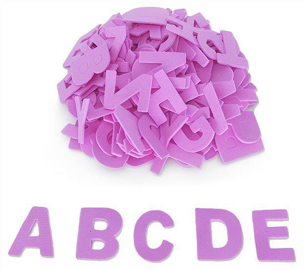 Letras em EVA - Pacote com 6 Alfabetos
