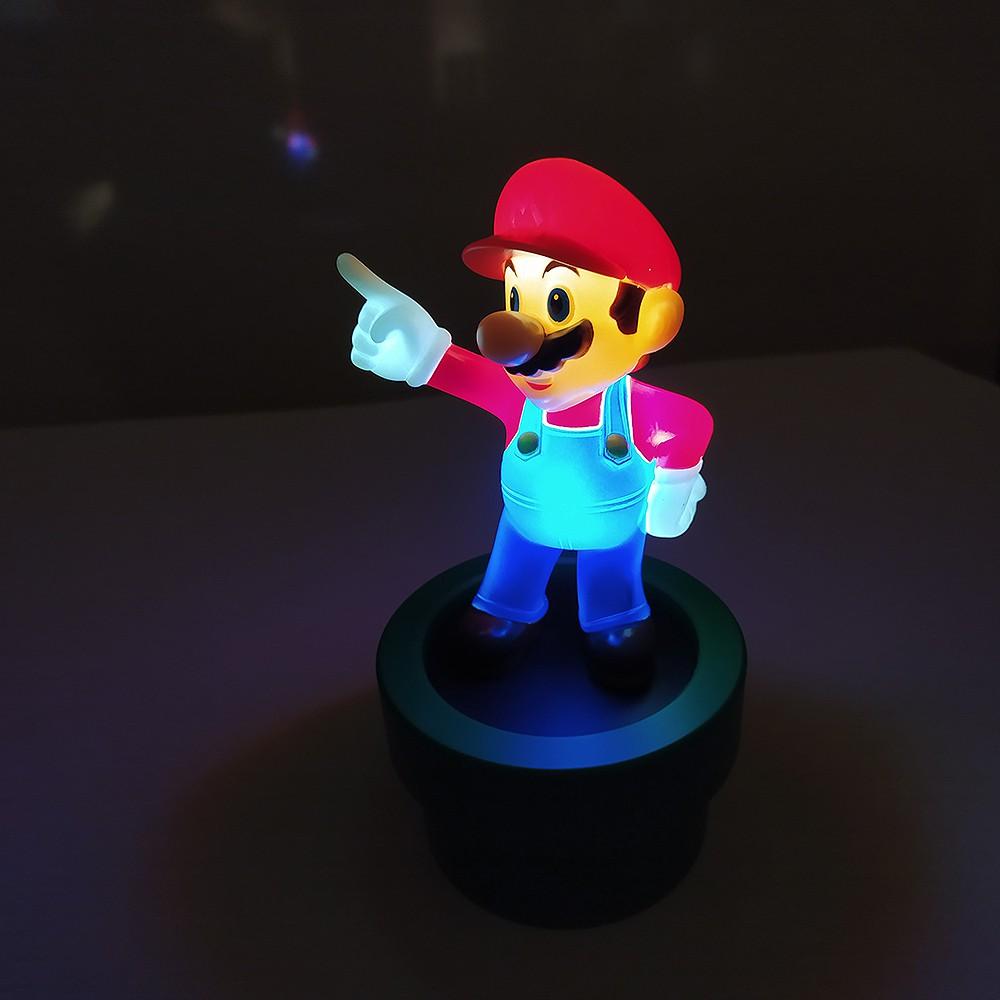 Luminária Super Mario 3D Original