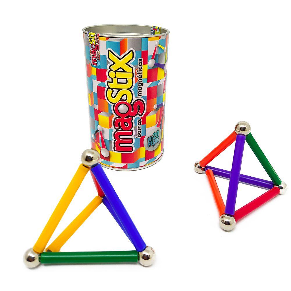 MagStix Barras Magnéticas com Esferas 20 peças