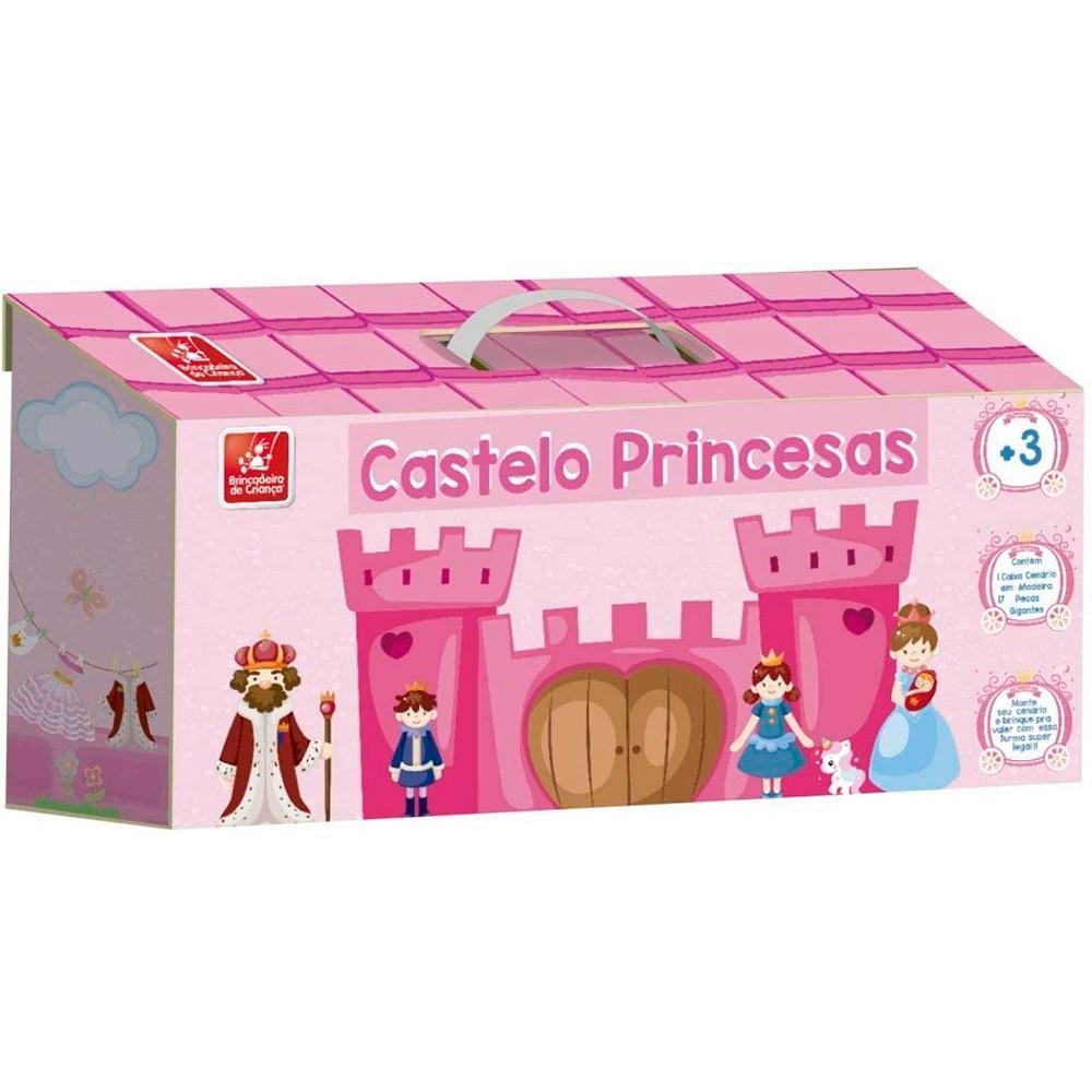 Maleta Princesas Baby com 17 Peças em MDF