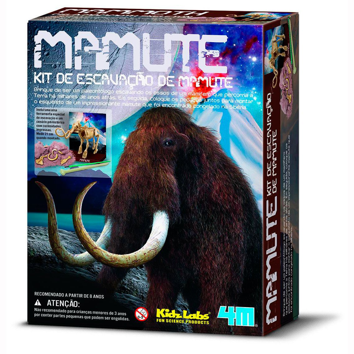 Mamute Kit de Escavação • 4M