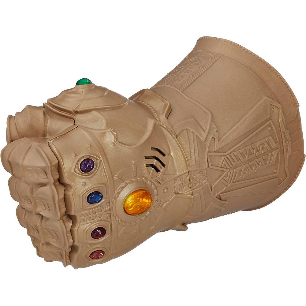 Manopla Eletrônica Thanos com Joias do Infinito - Hasbro