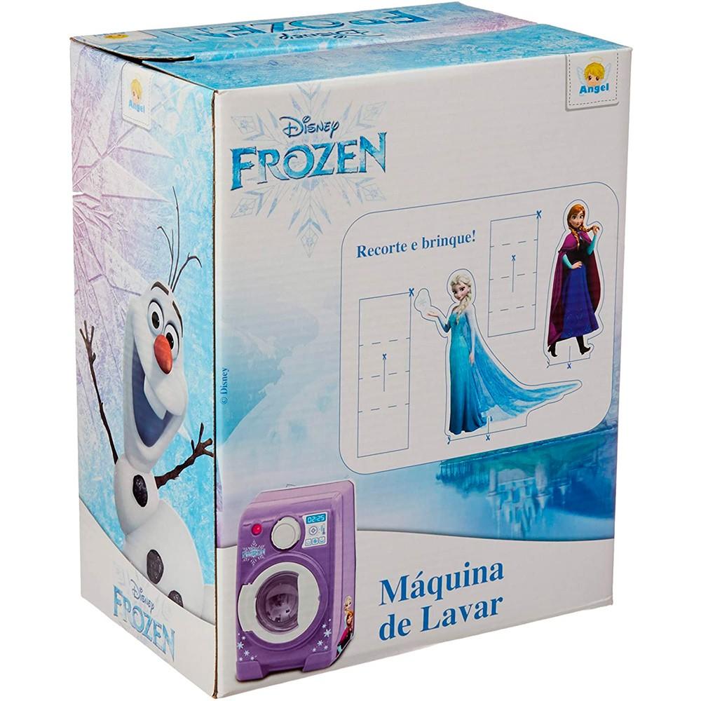Maquina de Lavar Frozen - Angel Toys