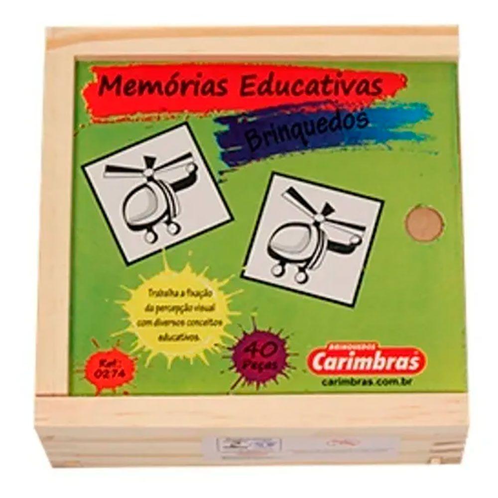 Memórias Educativas Brinquedos - Carimbras