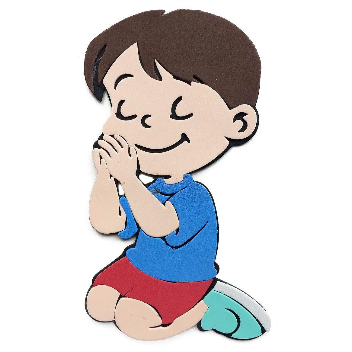 Menino Orando de Eva