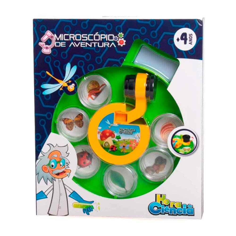 Microscópio Infantil com Alça Hora da Ciência - Dican