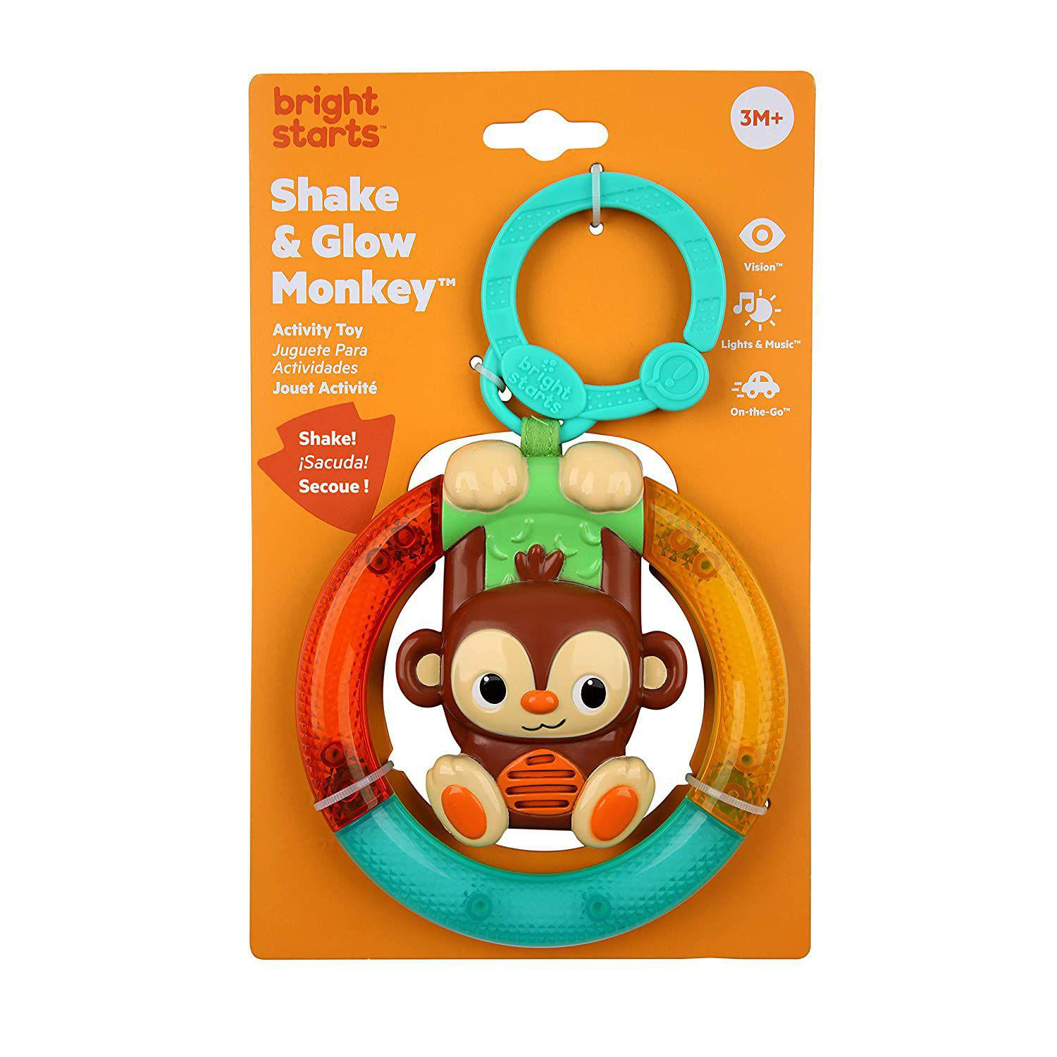 Mini Móbile Shake and Glow Monkey Bright Starts
