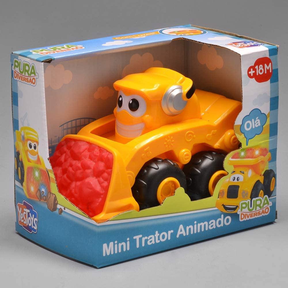 Mini Trator Animado