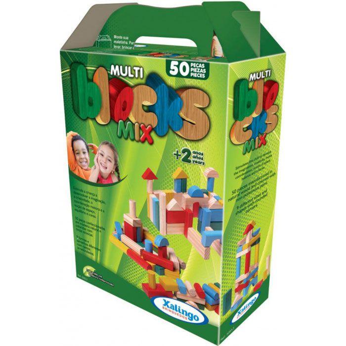 Multiblocks Mix 50 Peças • Xalingo