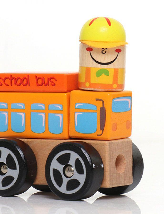 Ônibus Escolar em Blocos  - Dican