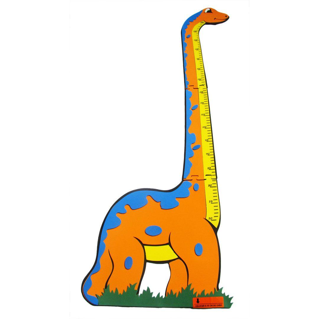 Painel de Eva - Régua De Medida Dinossauro