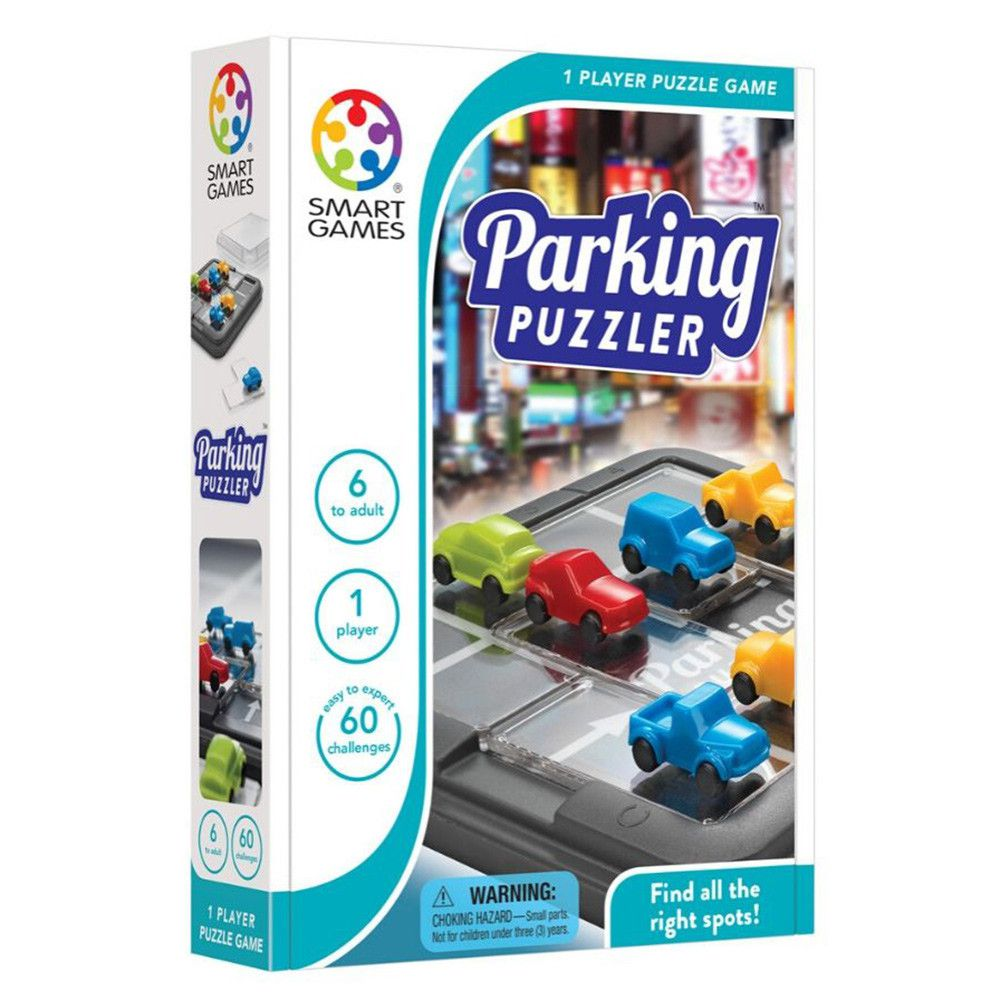 Parking Puzzler Estacionamento Quebra-Cabeça - Smart Games