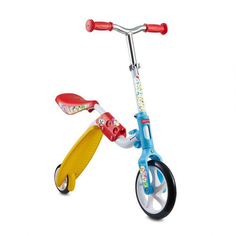 Patinete e Bicicleta de Equilíbrio 2 em 1 Fisher Price