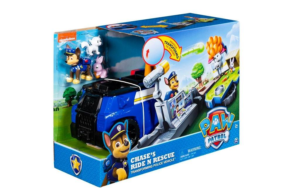Patrulha Canina  - Playset 2 em 1 -  Cenário - Chase Policial