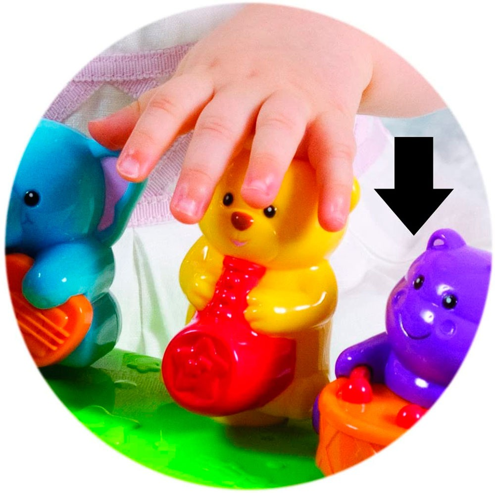 Teclado Musical Infantil Animais Selvagens - Winfun