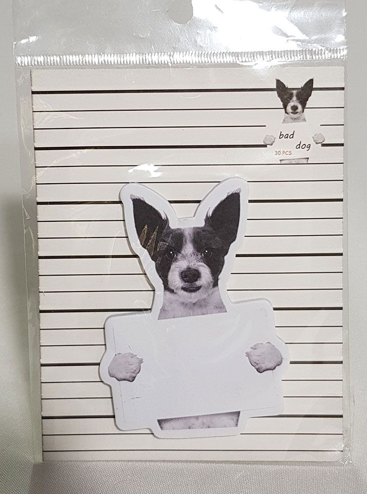 Postite Decorado Bad Dog