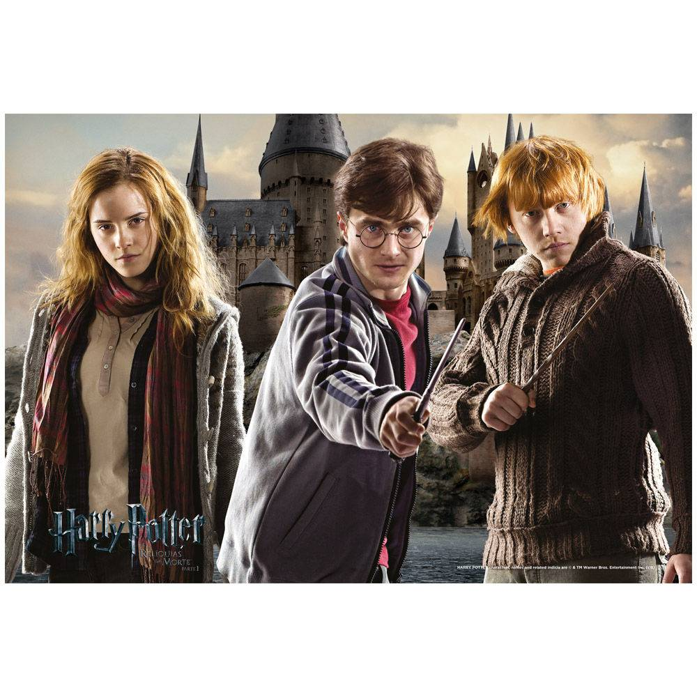 Quebra-Cabeça Harry Potter 150 Peças - Grow