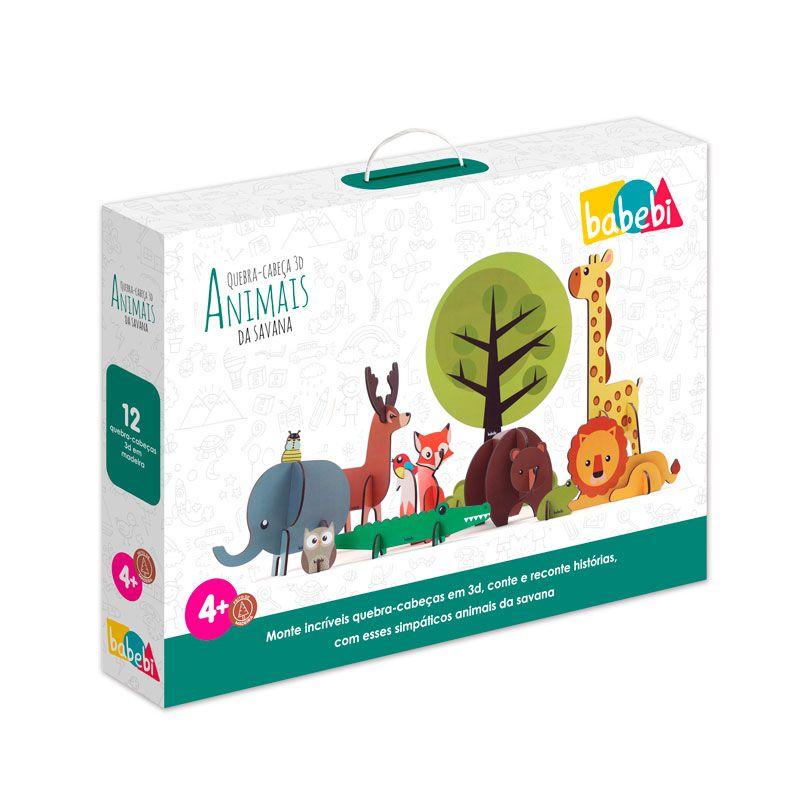 Quebra - Cabeça 3D Animais da Fazenda