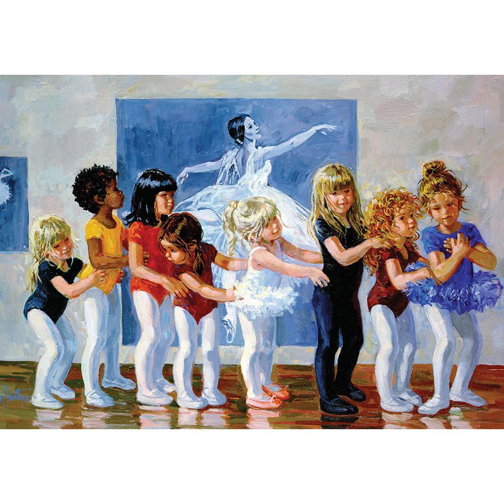 Quebra Cabeça Bailarinas 1500 peças