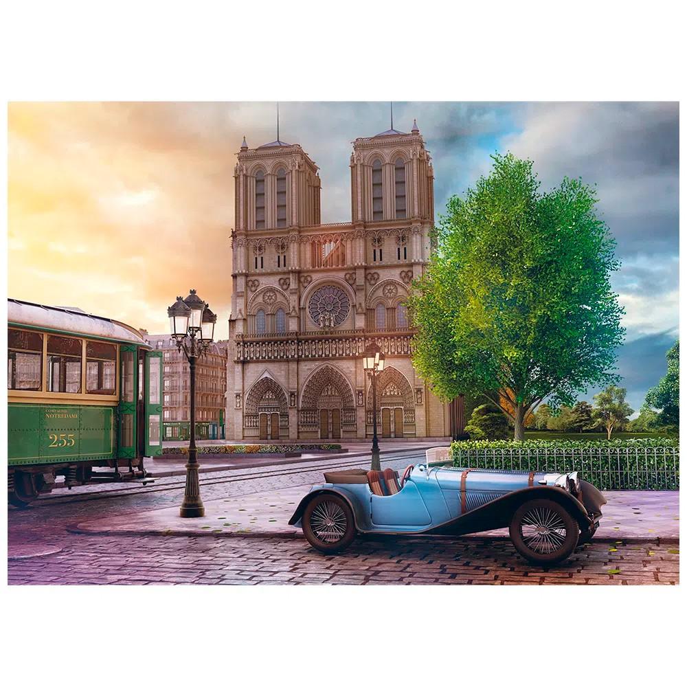 Quebra Cabeça Catedral de Notre-Dame 2000 Peças - Grow