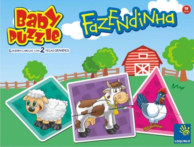 Quebra-Cabeça Fazendinha Baby Puzzle