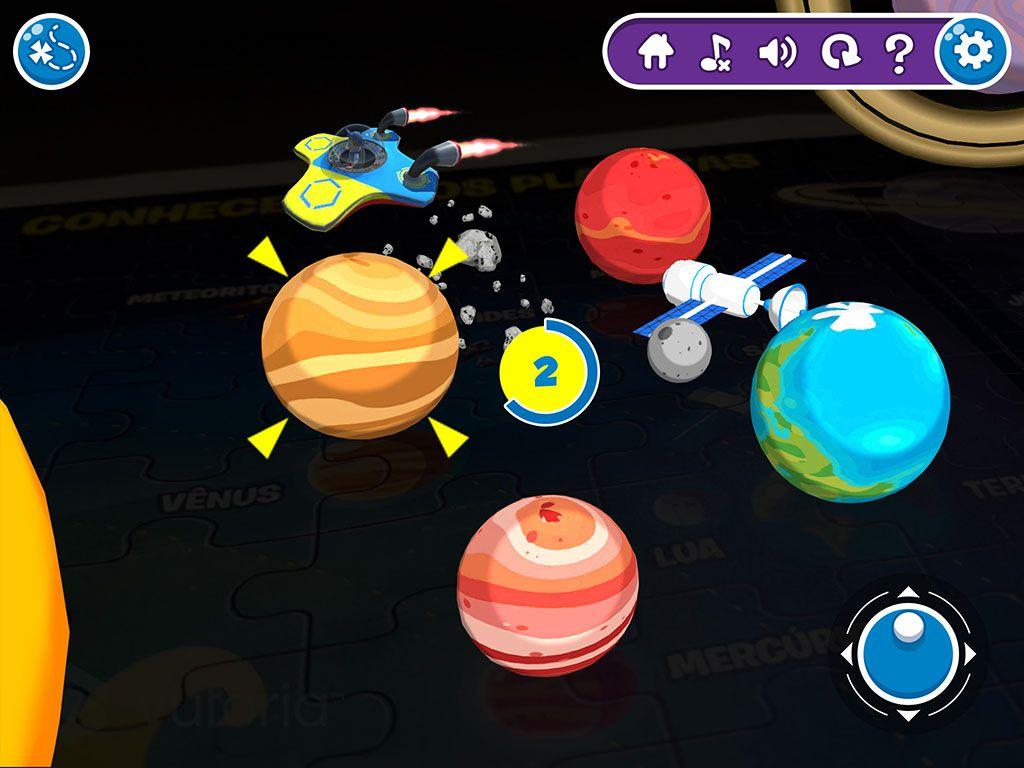 Quebra-Cabeça Interactive Play Conhecendo os Planetas  Xalingo