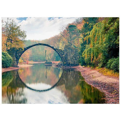 Quebra-Cabeça Ponte Espelhada 500 Peças Grow