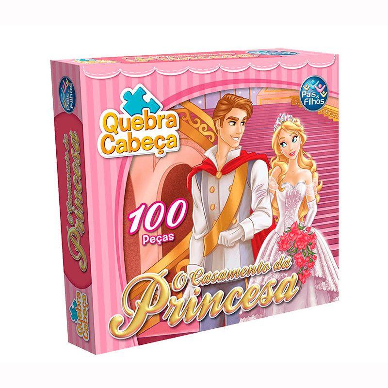 Quebra Cabeça Princesas - O casamento das Princesas