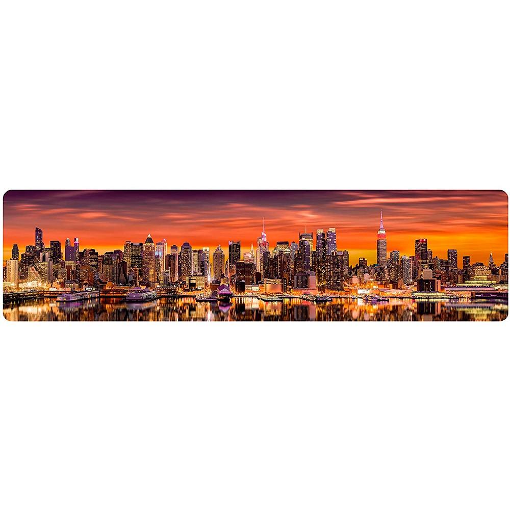 Quebra Cabeça Panorâmico  Skyline de Manhattan 1500 Peças - Toyster